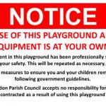 Bletchingdon Playground, Oxford Road
